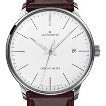 Junghans Meister Chronometer Steel 38.4mm White