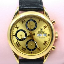 Festina Yellow gold 37mm Automatic pre-owned United States of America, New York, New York