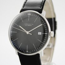 Junghans max bill Automatic Stal 38mm Czarny