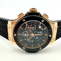 Hublot Big Bang Aero Bang Ruzicasto zlato 44mm Crn