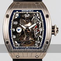 Richard Mille White gold 39mm Manual winding RM 014 pre-owned