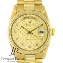 Rolex Day-Date 36 gebraucht 36mm Gold Datum Wochentagsanzeige Gelbgold