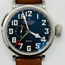 Zenith Pilot Type 20 GMT Steel 48mm Black Arabic numerals United States of America, Texas, Houston