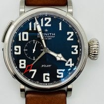 Zenith Pilot Type 20 GMT new 2016 Watch with original box and original papers 96.2431.693/21.C740