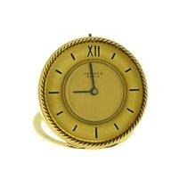 Hermès Clipper Żółte złoto Żółty Rzymskie