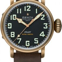 Zenith 29.2430.679/63.I001 Bronze 2020 Pilot Type 20 45mm new United States of America, Texas, Houston