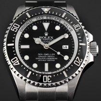 Rolex Sea-Dweller Deepsea Stahl 44mm Schwarz Keine Ziffern Deutschland, Essen