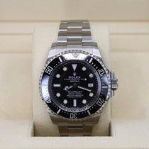 劳力士海洋居民深海钢44mm黑色没有数字美利坚合众国,纽约,纽约