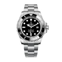 Rolex Sea-Dweller Deepsea Steel 44mm Black No numerals United States of America, New York, NEW YORK