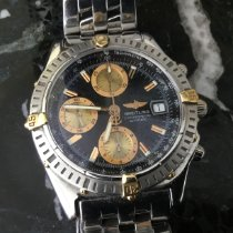Breitling Windrider Gold/Steel 39mm Blue No numerals United States of America, Florida, Palm Beach