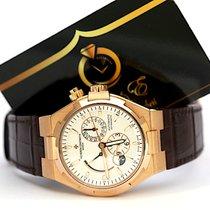Vacheron Constantin Overseas Dual Time Ruzicasto zlato 42mm Bjel Bez brojeva