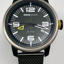 Momo Design Acier 43mm Quartz MD1014BS-10 nouveau