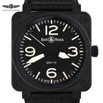 Bell & Ross BR 01-92 Steel 46mm Black Arabic numerals United States of America, Georgia, Atlanta