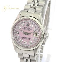 Rolex Oyster Perpetual Lady Date Gold/Steel 26mm Silver No numerals United States of America, California, Sherman Oaks