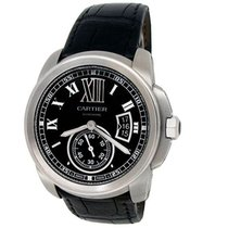 Cartier Calibre de Cartier Steel 42mm Black Roman numerals United States of America, California, Los Angeles