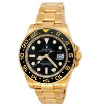 Rolex GMT-Master II Yellow gold 40mm Black United States of America, California, Los Angeles
