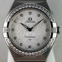 Omega Constellation Quartz Stål 28mm Sølv