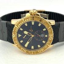 Ulysse Nardin Maxi Marine Diver Pозовое золото 42.7mm Чёрный Без цифр
