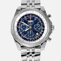 Breitling Bentley Motors Steel 48mm Blue No numerals United States of America, New York, New York