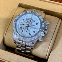 Breitling Super Avenger new Automatic Chronograph Watch with original box and original papers A1337053/A699