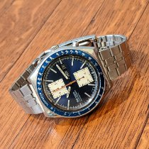 Seiko Steel 43mm Blue No numerals United States of America, New Jersey, West New York