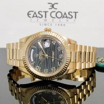 Rolex Day-Date II Yellow gold 41mm Gold Roman numerals