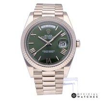Rolex Day-Date 40 Verde