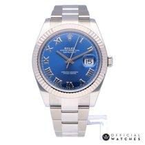 Rolex Datejust II Bleu