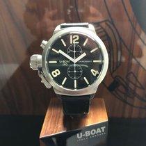 U-Boat Сталь 45mm Кварцевые b45-08 LI046m новые