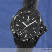 TAG Heuer Ceramic Automatic Black 42mm pre-owned Aquaracer 500M