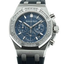 Audemars Piguet Royal Oak Offshore Lady Steel 37mm Blue United States of America, New York, New York