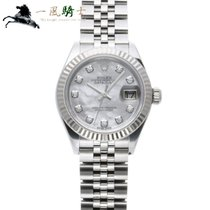 Rolex Lady-Datejust Steel 28mm White