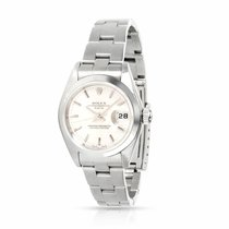 Rolex Oyster Perpetual Lady Date Stahl 26mm Silber