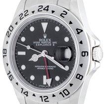 Rolex Explorer II occasion 41mm Noir Date Acier