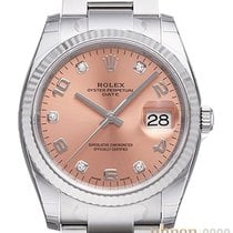 Rolex Oyster Perpetual Date 115234 Ongedragen Staal 34mm Automatisch