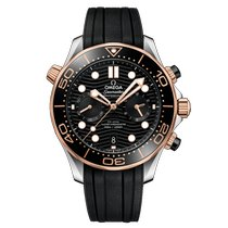 Omega Seamaster Diver 300 M 210.22.44.51.01.001 Nieuw Goud/Staal 44mm Automatisch