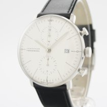 Junghans max bill Chronoscope Stål 40mm Sølv