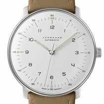 Junghans max bill Automatic Otel 38mm Alb