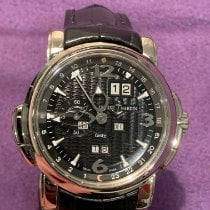 Ulysse Nardin pre-owned Automatic 42mm Black Sapphire crystal 5 ATM