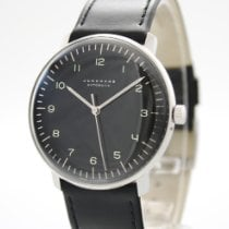 Junghans max bill Automatic Steel 38mm Black Arabic numerals