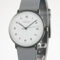Junghans max bill Automatic Steel 34mm White Arabic numerals