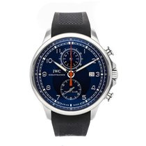 IWC Portuguese Yacht Club Chronograph Steel 45mm Blue Arabic numerals United States of America, Pennsylvania, Bala Cynwyd