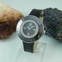 Swatch Stahl Quarz Schwarz 36mm gebraucht