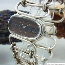 Omega Silber Handaufzug 35mm gebraucht De Ville