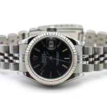 Rolex Lady-Datejust Stahl 26mm Schwarz Keine Ziffern Deutschland, Schramberg