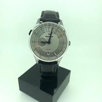 Zenith Steel Automatic Silver new Elite Dual Time
