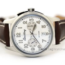 Breitling Transocean Chronograph 1915 Steel 43mm Silver United States of America, Florida, Aventura