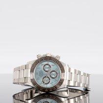 Rolex Daytona Platinum 40mm Blue No numerals UAE, dubai