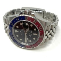 Rolex 126710BLRO Steel 2017 GMT-Master II 40mm pre-owned