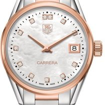 TAG Heuer Carrera Lady Steel 32mm Mother of pearl
